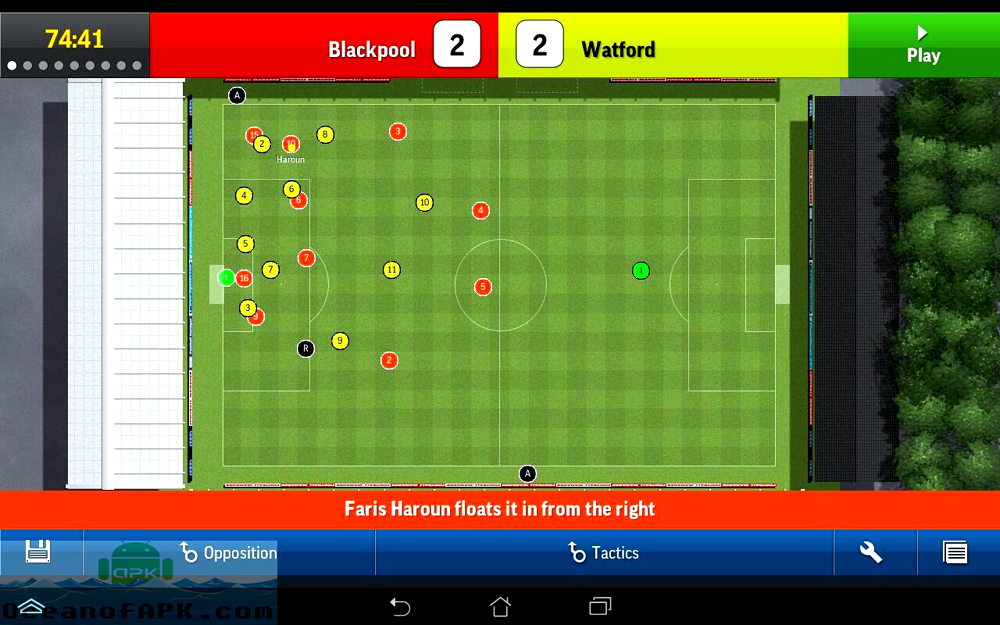 Football Manager Handheld 2015 APK Features