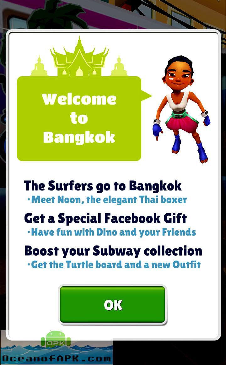 Subway Surfers Bangkok Thailand Review