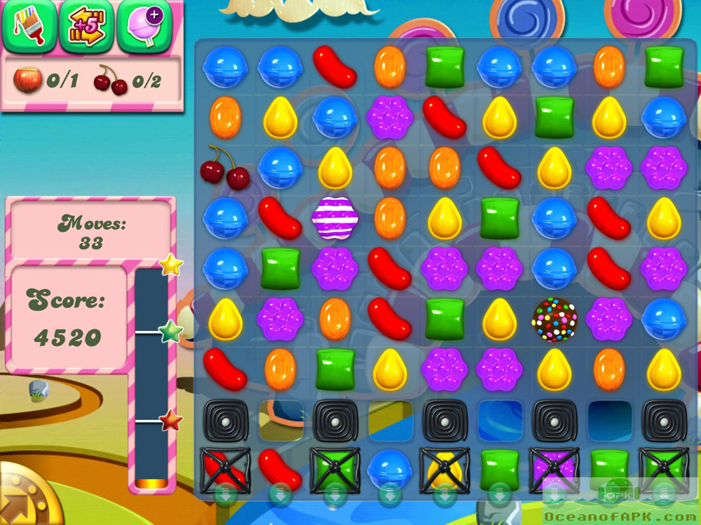 Candy Crush Saga Mod Unlimited APK Features