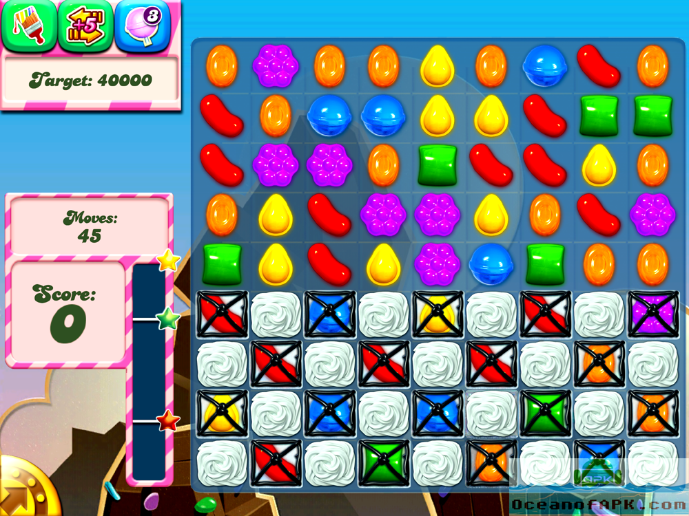 Candy Crush Saga Unlimited Life 1000 Moves APK Features