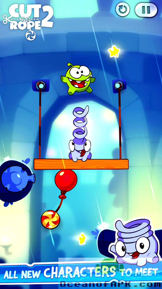 Cut The Rope 2 APK Features