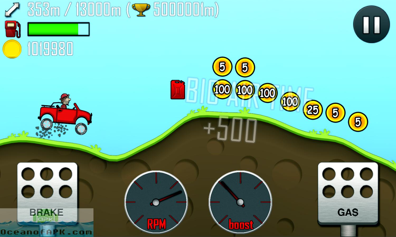 Hill Climb Racing Mod APK Setup Free Download