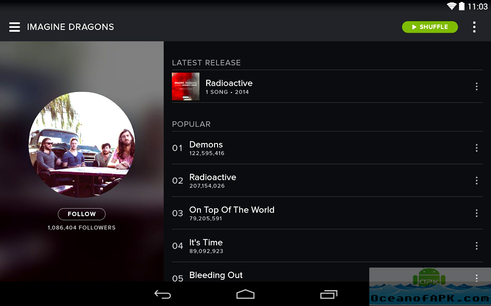 Spotify Music APK Download For Free