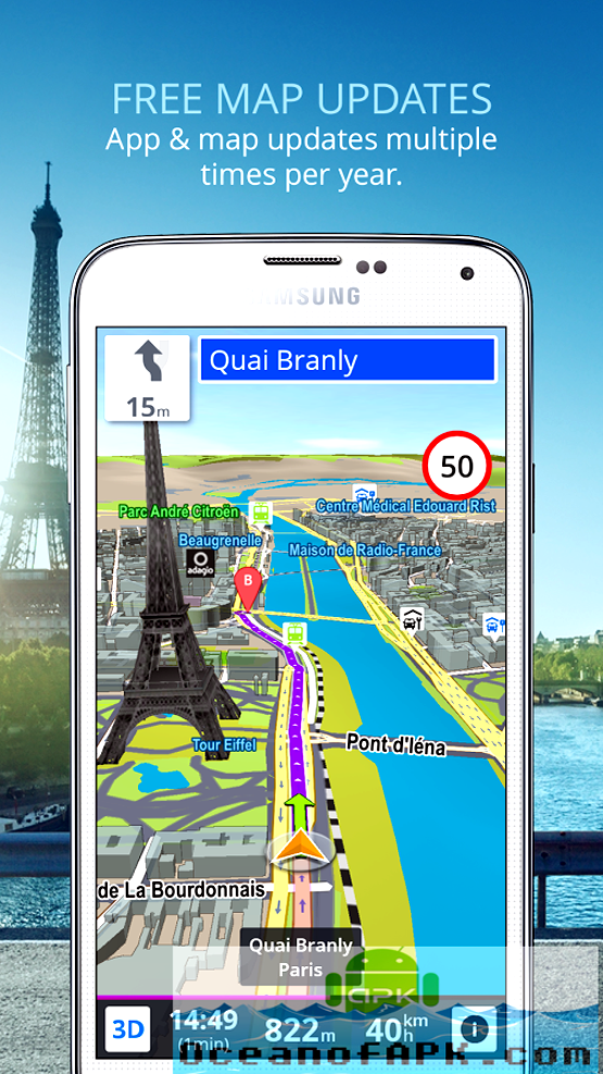 Sygic GPS With Maps APK Plus Data Features