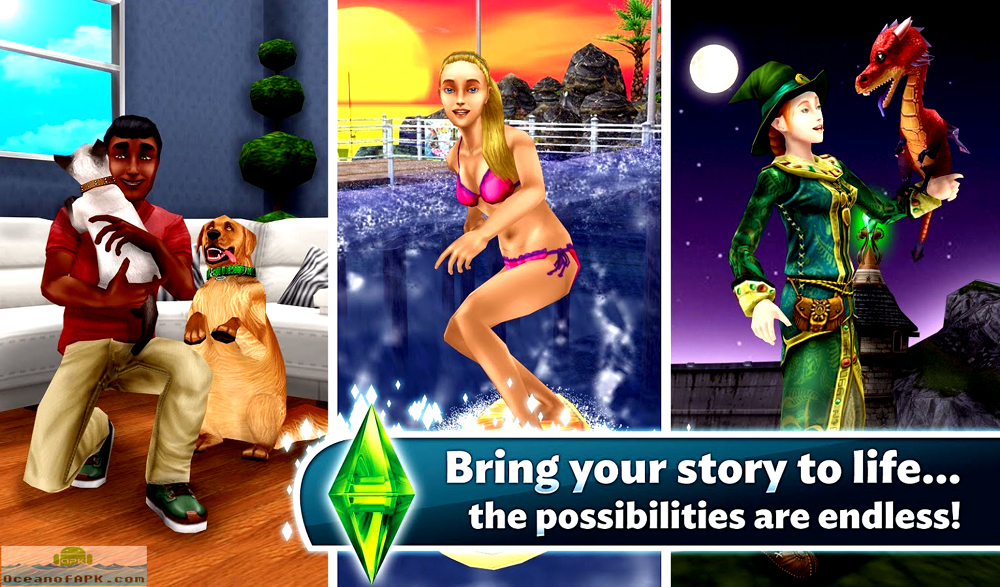 The Sims FreePlay Modded APK Features
