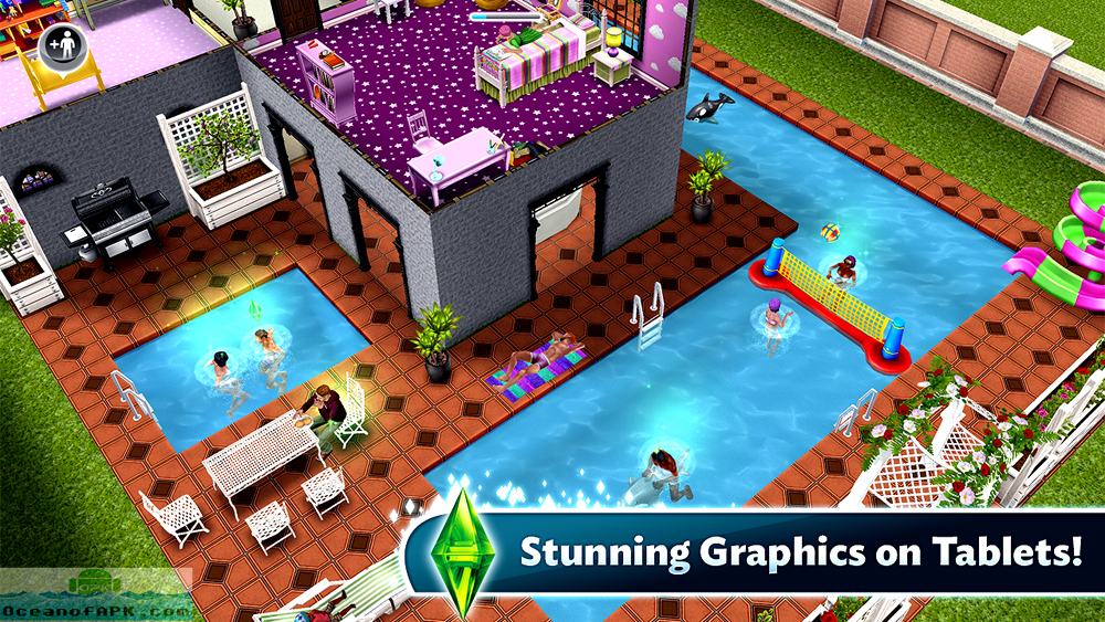 The Sims FreePlay Modded APK Setup Free Download