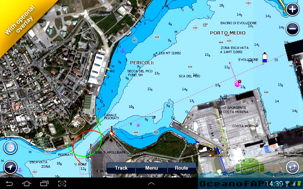 Marine Europe HD 4 Features