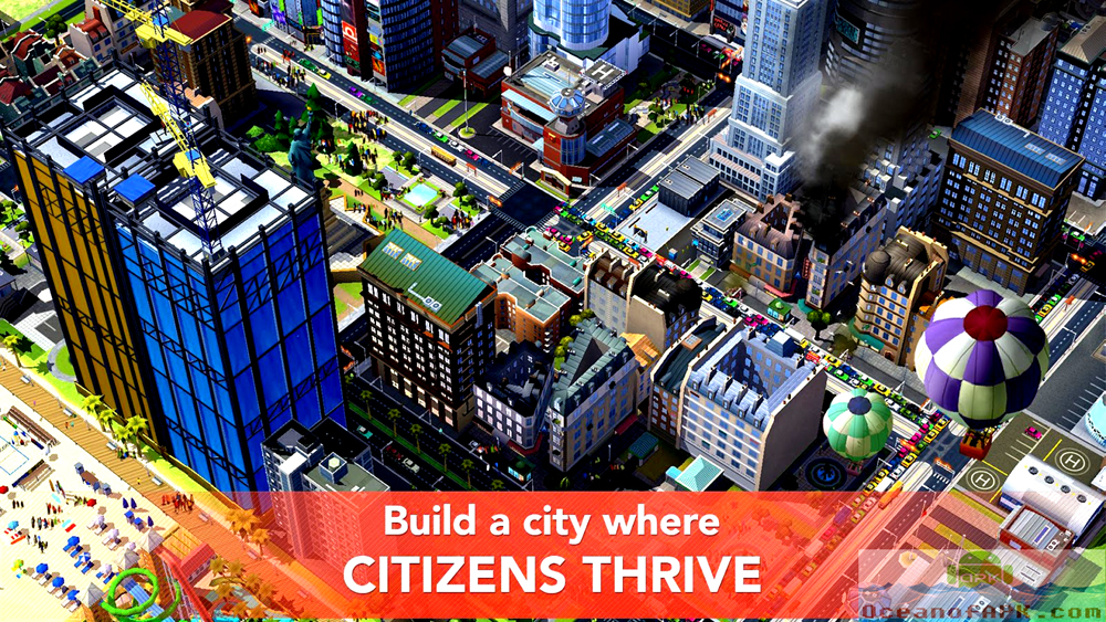 SimCity BuildIt APK Download For Free