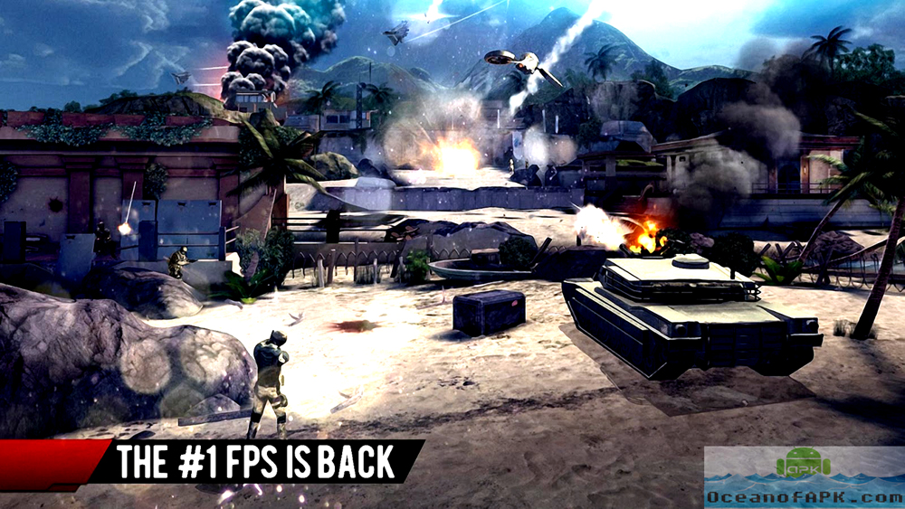 Modern Combat 4 Zero Hour APK Download For Free