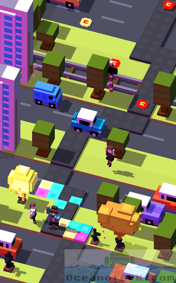 Crossy Road Mod APK Features